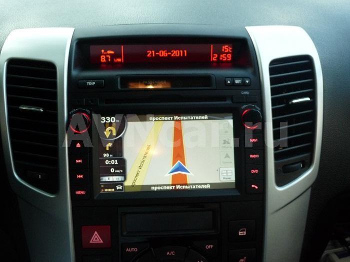 головное устройство kia ceed 2010
